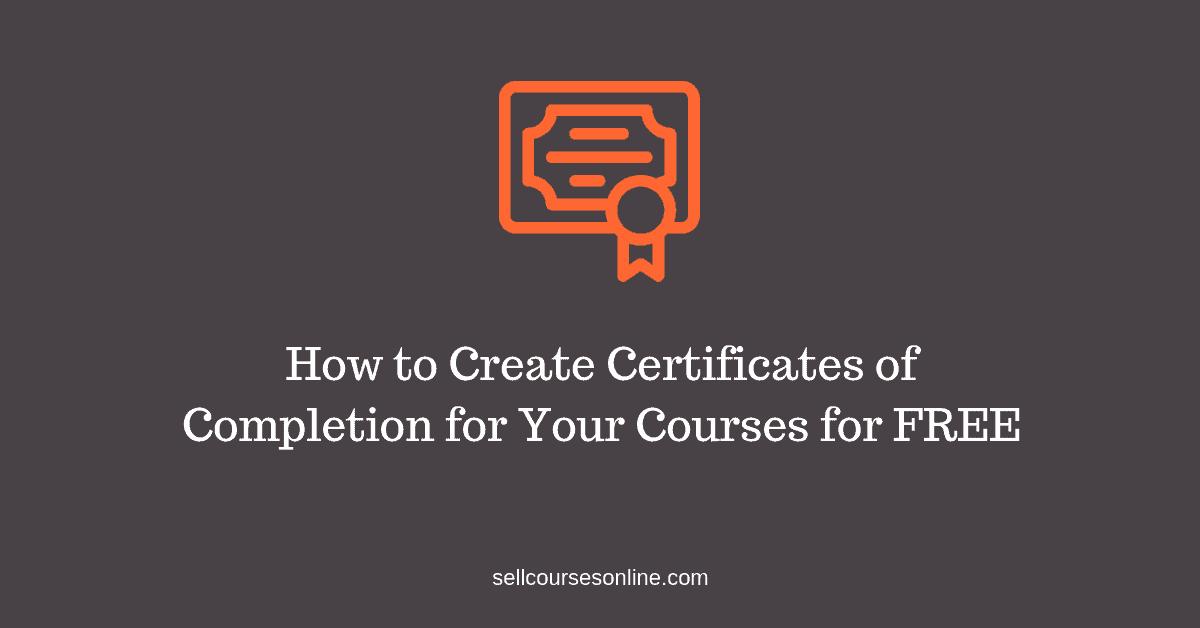 Create Certificates