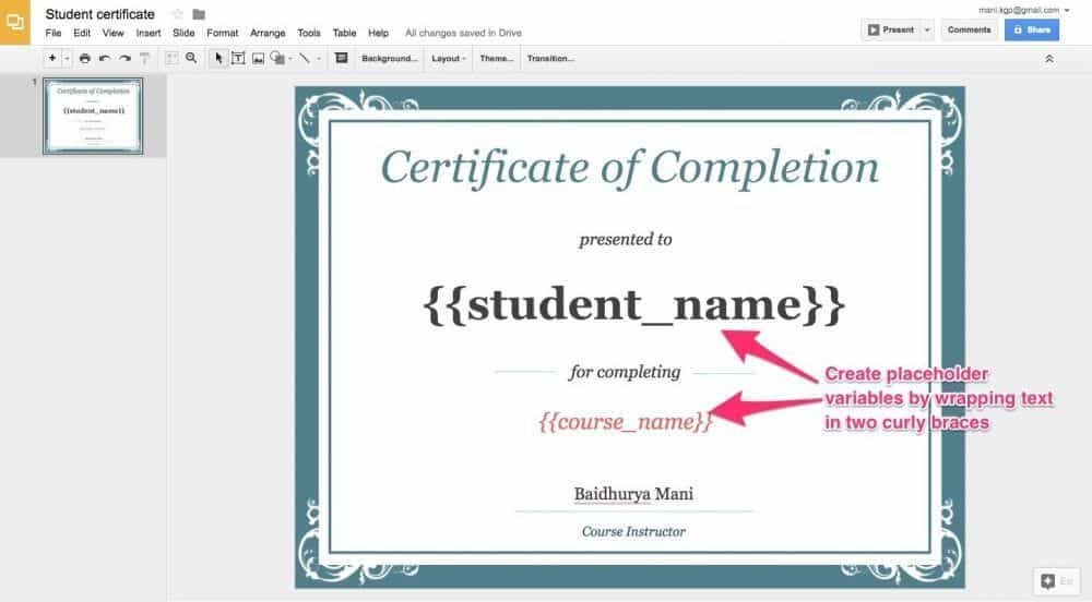 How To Make Certificates Of Completion For Teachable Courses For