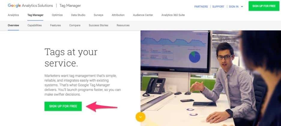 Create a Google Tag Manager Account