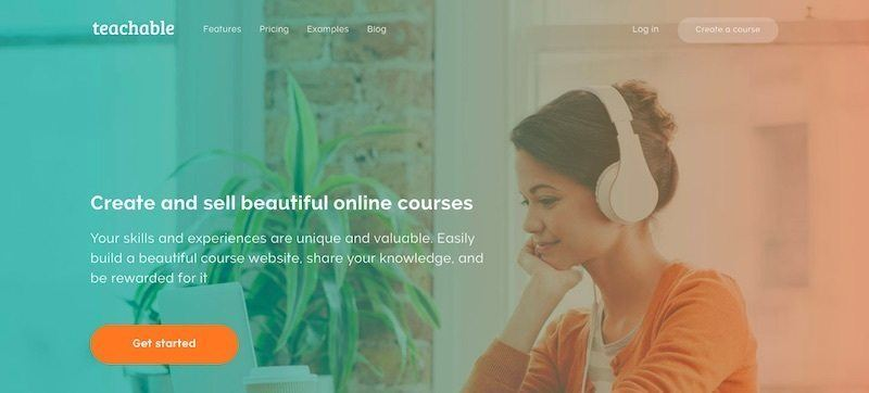 Teachable Online Course Platform