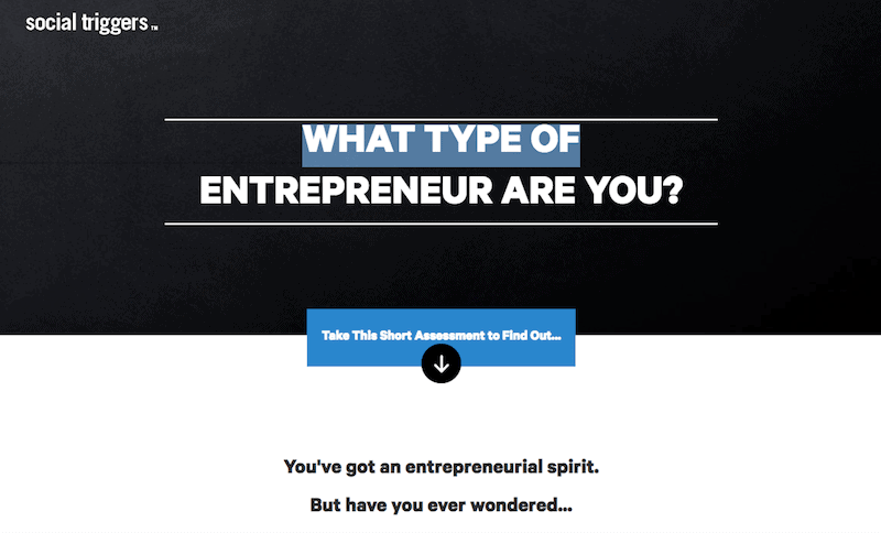 What Type of Entrepreneur Are You Quiz