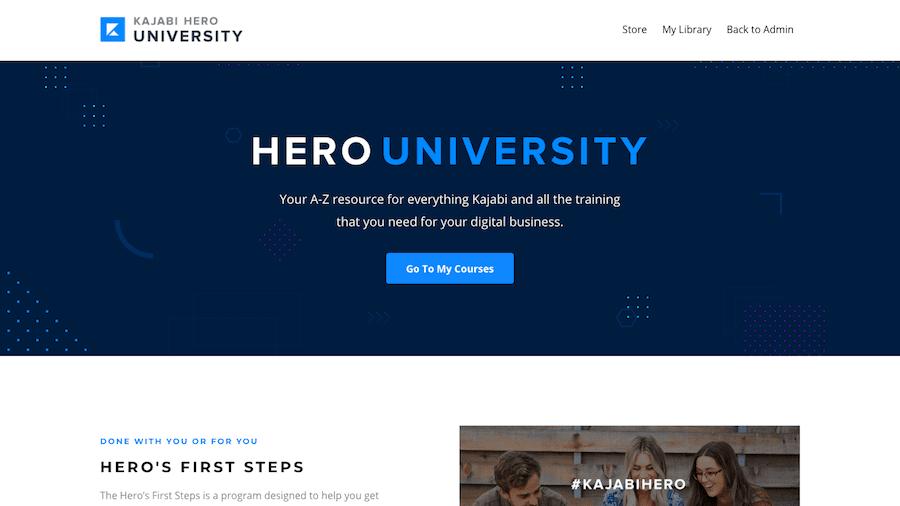 Kajabi Hero University