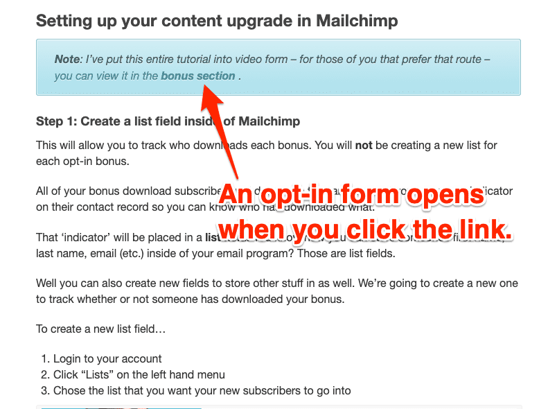 Inline Forms