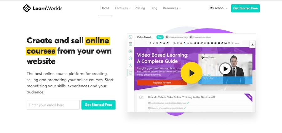 LearnWorldsとは何ですか?